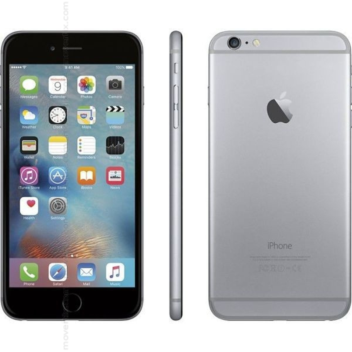 apple iphone 6 plus space grey 16gb 0888462039246. Black Bedroom Furniture Sets. Home Design Ideas