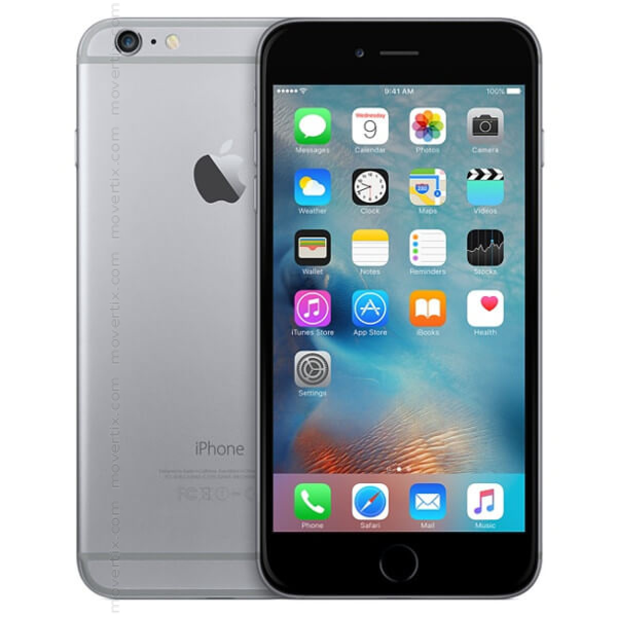 6b3e55e7a30 Apple iPhone 6S Plus en Gris Espacial de 128GB (0888462570350 ...