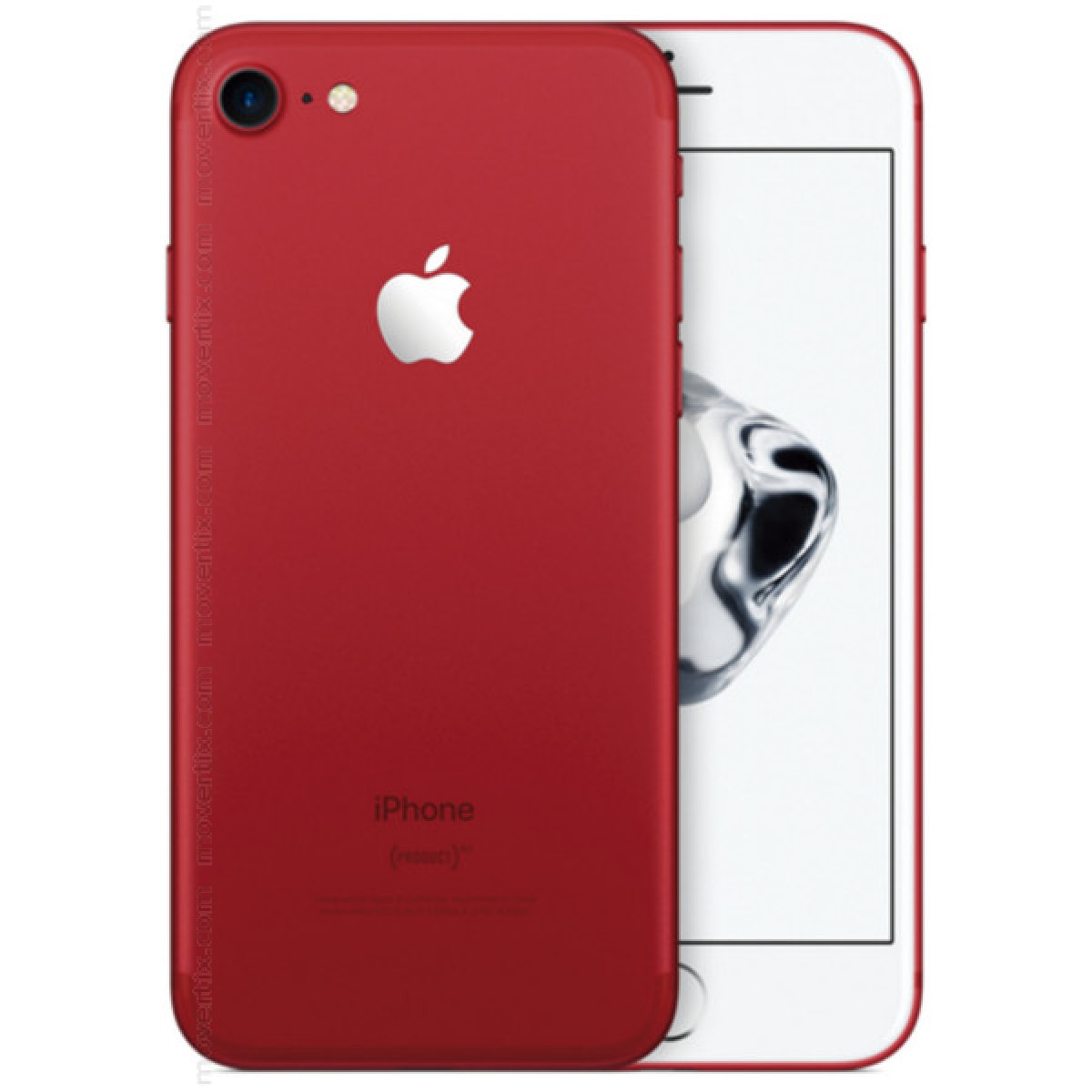 apple iphone 7 red 128gb 0190198360359 movertix mobile. Black Bedroom Furniture Sets. Home Design Ideas