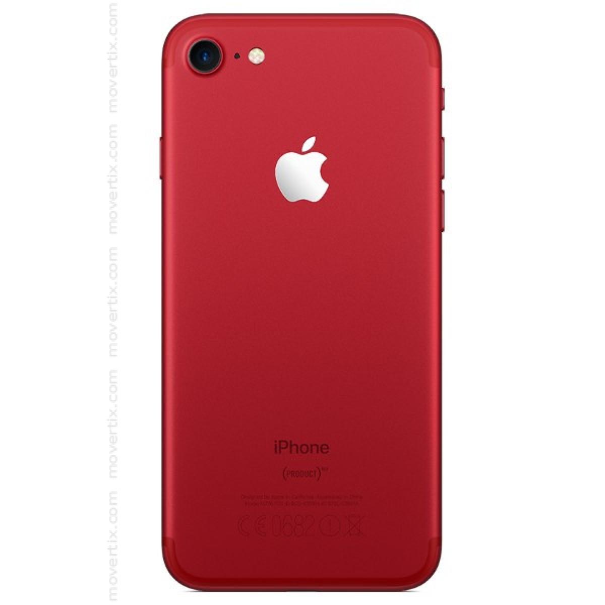 apple iphone 7 rouge avec 128go 0190198360359 movertix. Black Bedroom Furniture Sets. Home Design Ideas