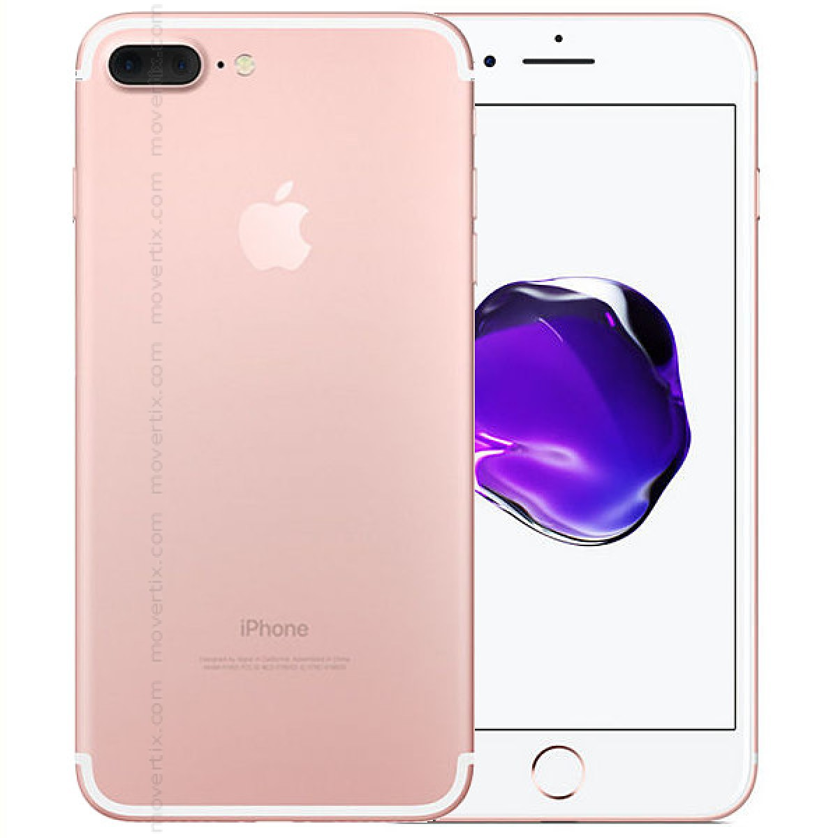 apple iphone 7 plus en oro rosa de 256gb 0190198046604 movertix tienda de m viles libres. Black Bedroom Furniture Sets. Home Design Ideas