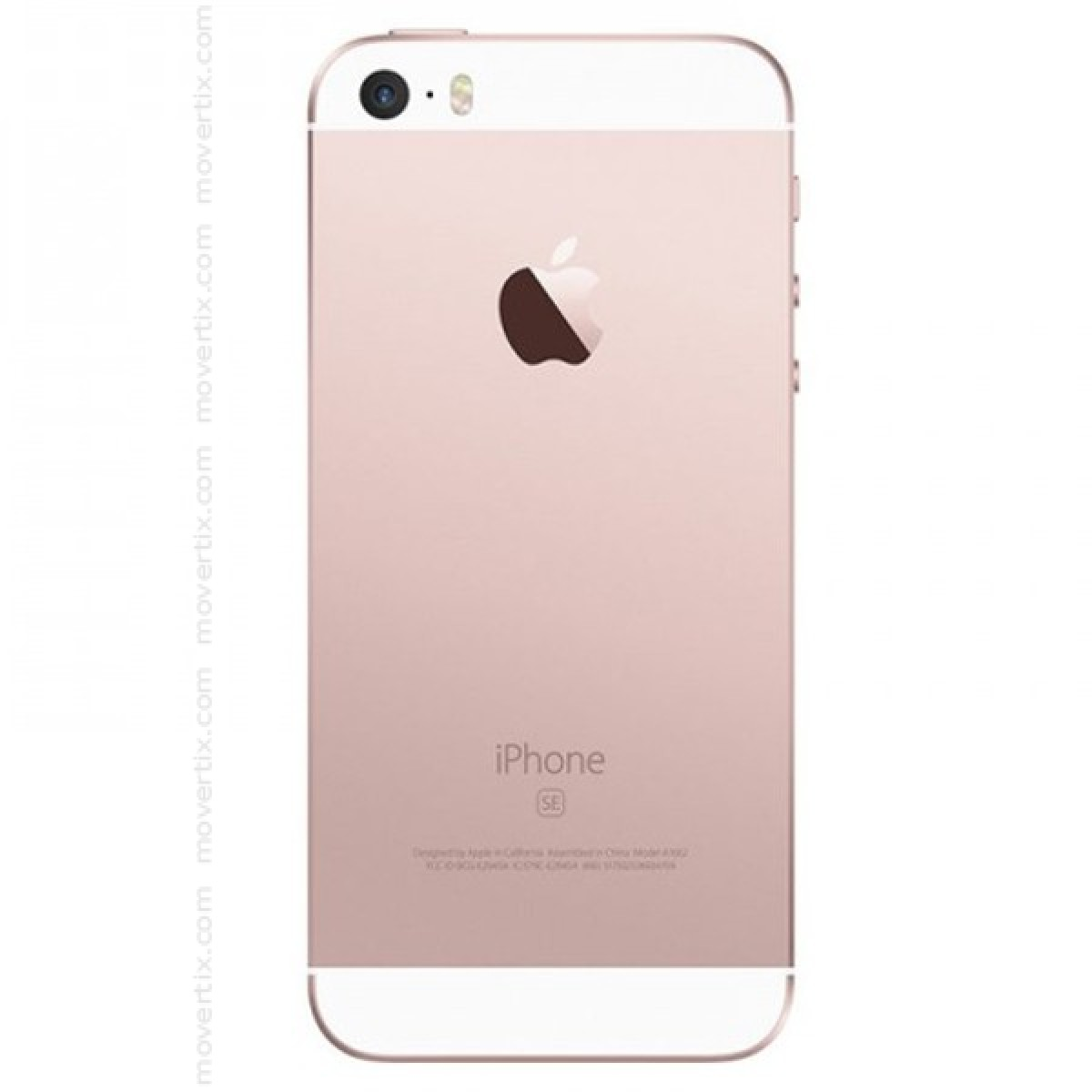 apple iphone se rose gold 64gb 888462803434 movertix. Black Bedroom Furniture Sets. Home Design Ideas