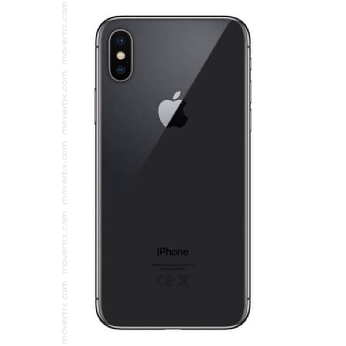 apple iphone x space grey 256gb 0190198458353 movertix mobile phones shop. Black Bedroom Furniture Sets. Home Design Ideas