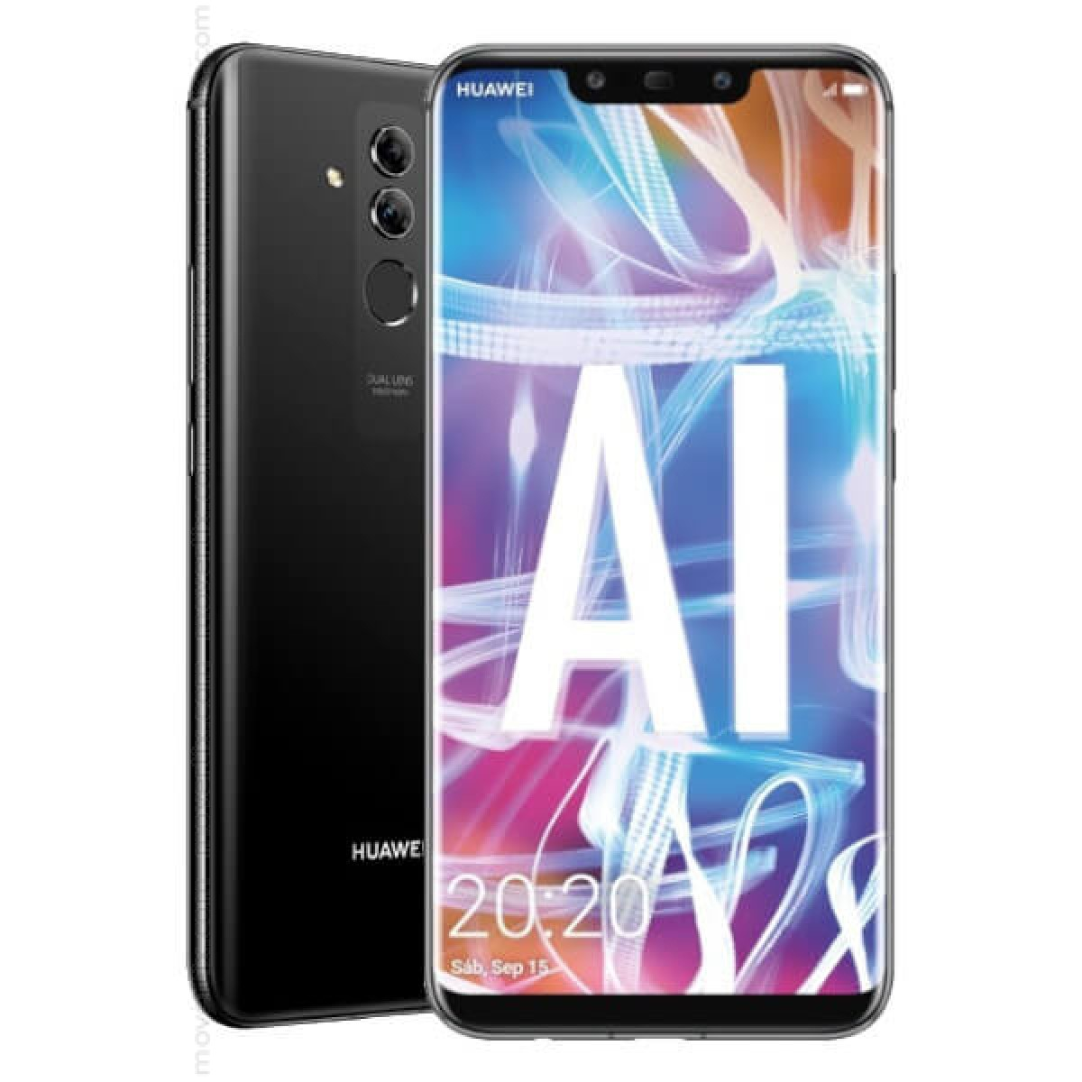 Huawei Mate 20 Lite Dual SIM Black 64GB and 4GB RAM (SNE-LX1)