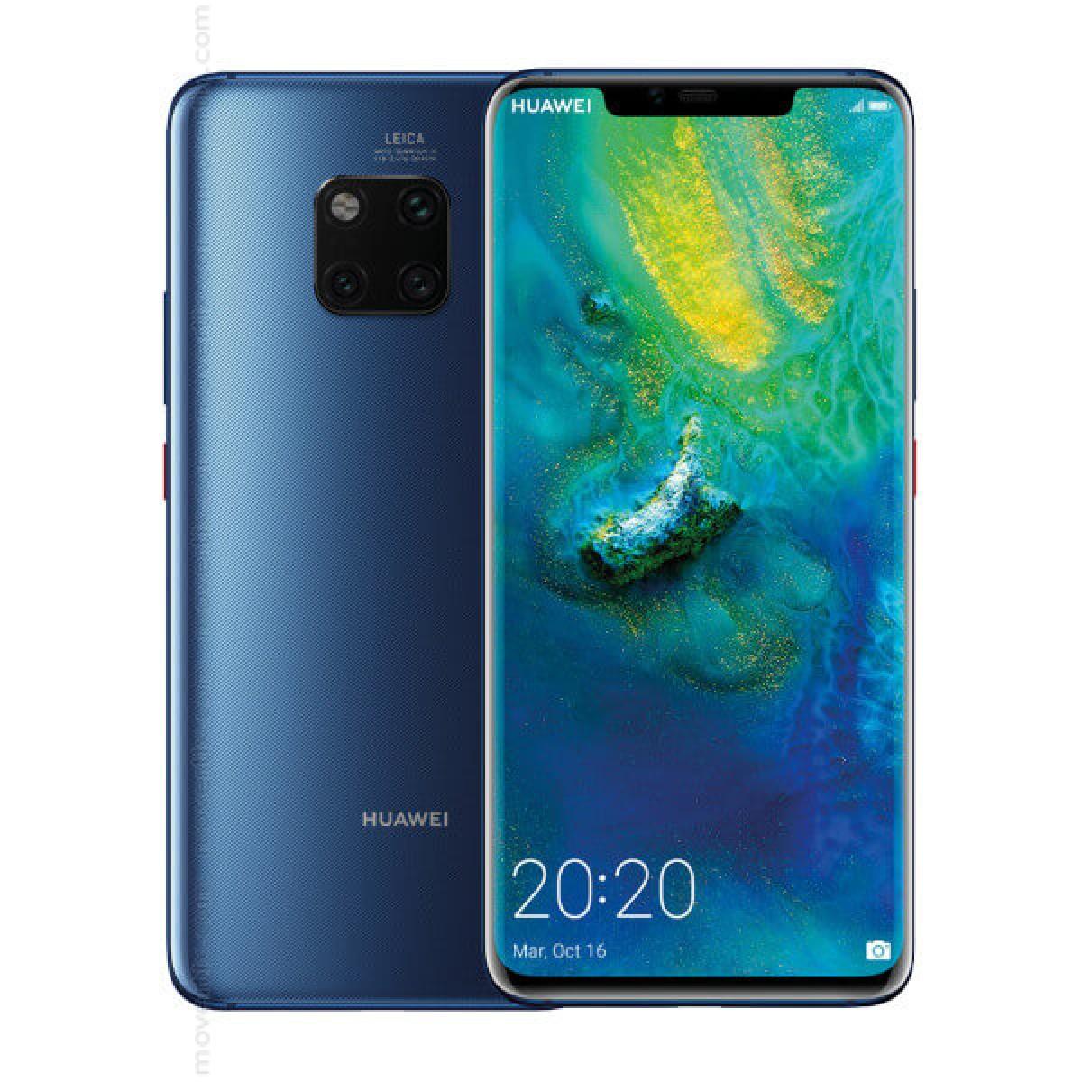Huawei Mate 20 Pro Dual SIM Azul de 128GB e 6GB RAM - LYA