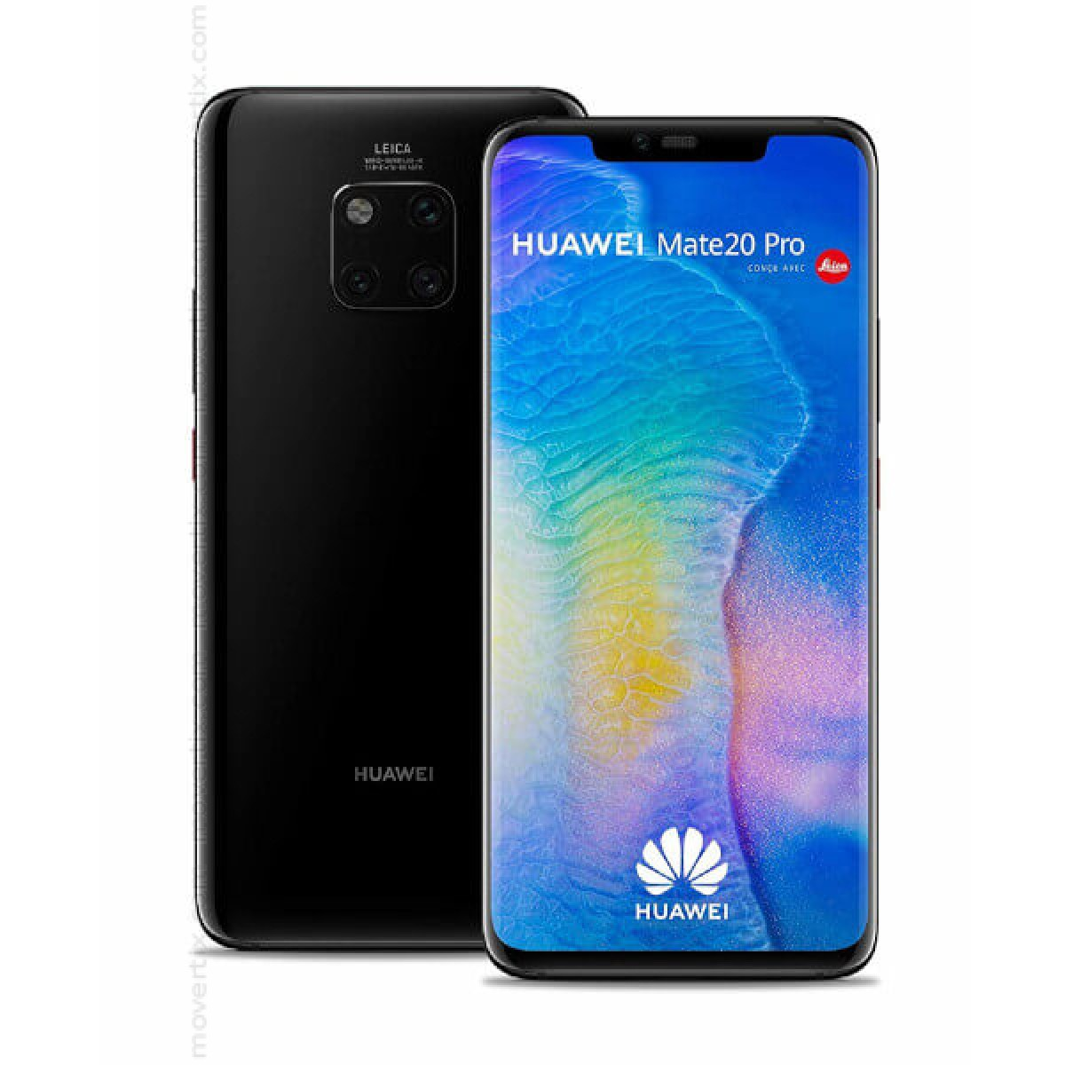04ebeea8cb6279 The Huawei Mate 20 Pro in black color is a Single SIM smartphone with  triple Leica camera, exceptional performance, 6GB of RAM and 128GB of  storage, ...