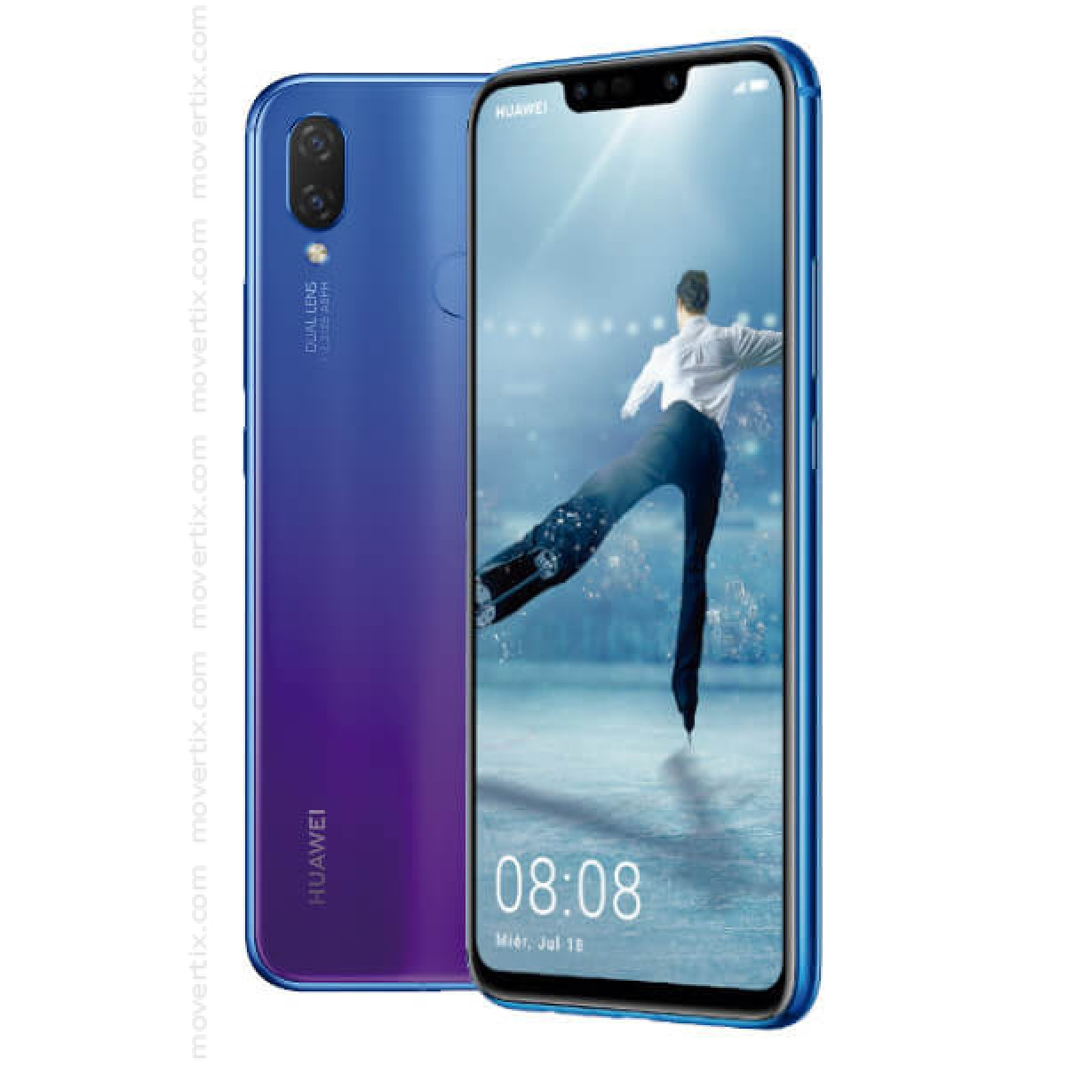 2f0c9d9c6ae Huawei P Smart Plus Dual SIM en Iris Purple de 64GB y 4GB RAM (INE-LX1)