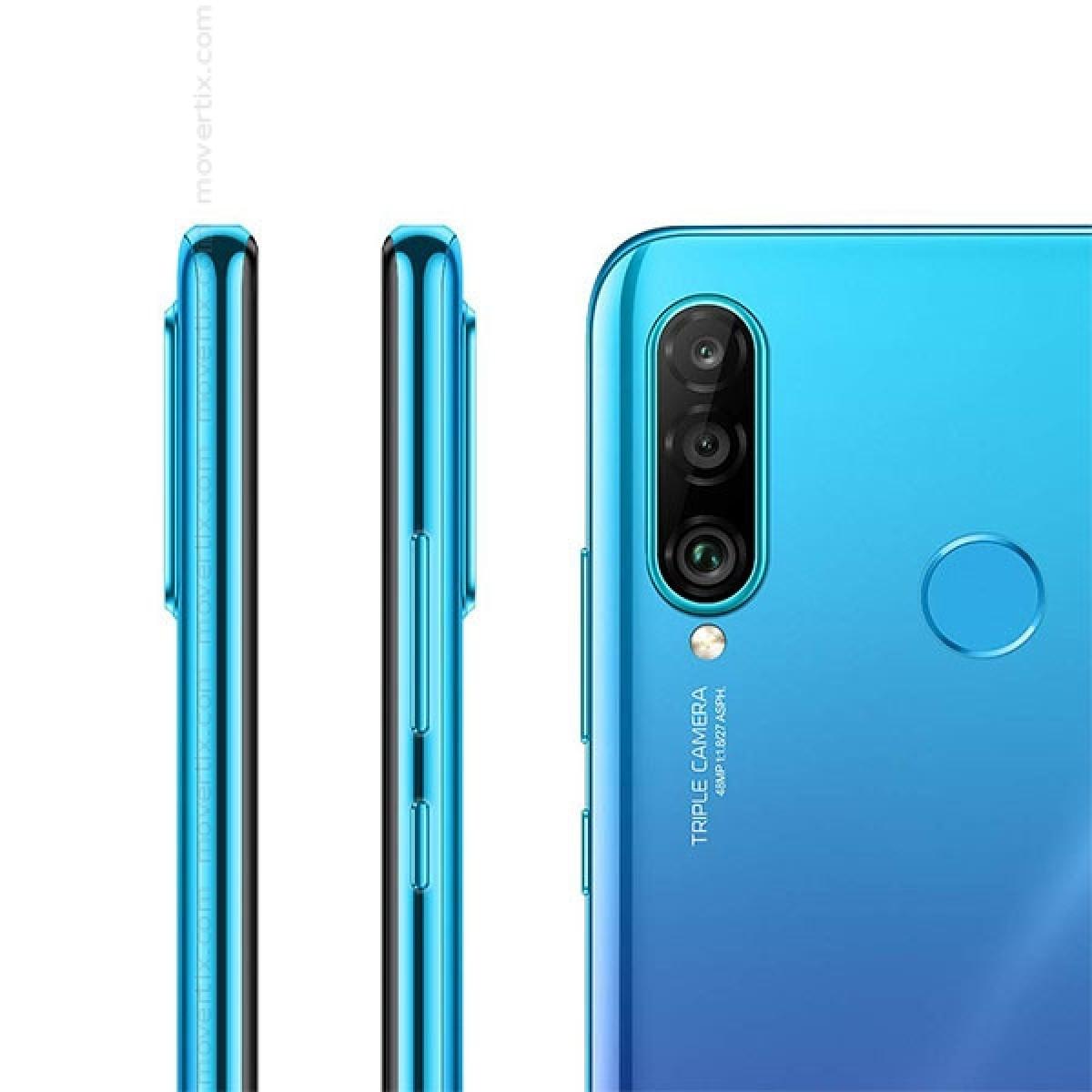 Huawei P30 Lite Dual SIM Peacock Blue 128GB and 4GB RAM (MAR-LX1A)