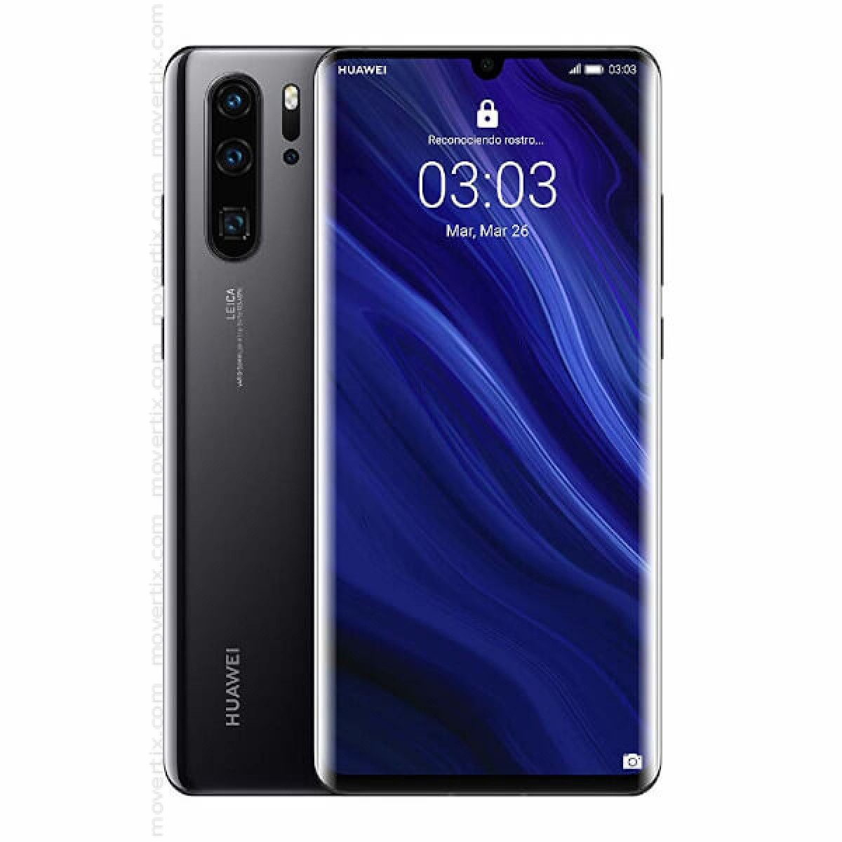 Huawei P30 Pro Dual Sim Black 128gb And 6gb Ram Vog L29 6901443292578 Movertix Mobile Phones Shop