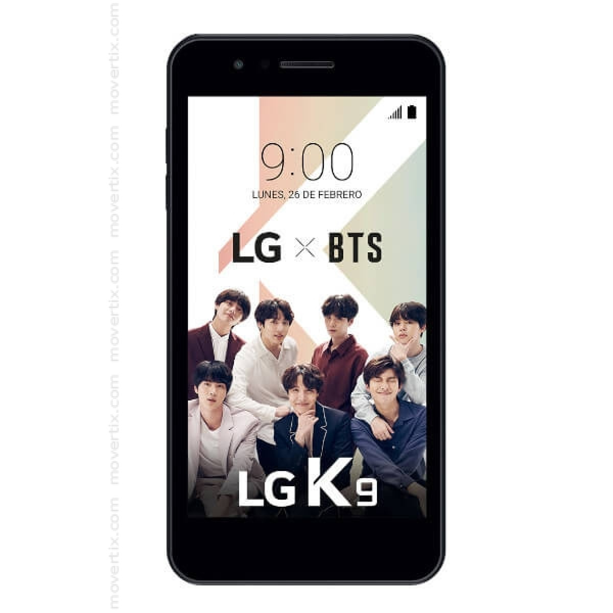 LG K9 Black 16GB and 2GB RAM (LM-X210)