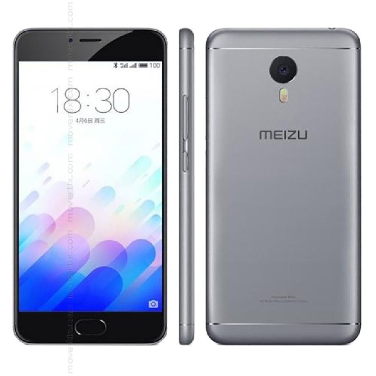meizu m3 note dual sim grey 32gb 6937520011534