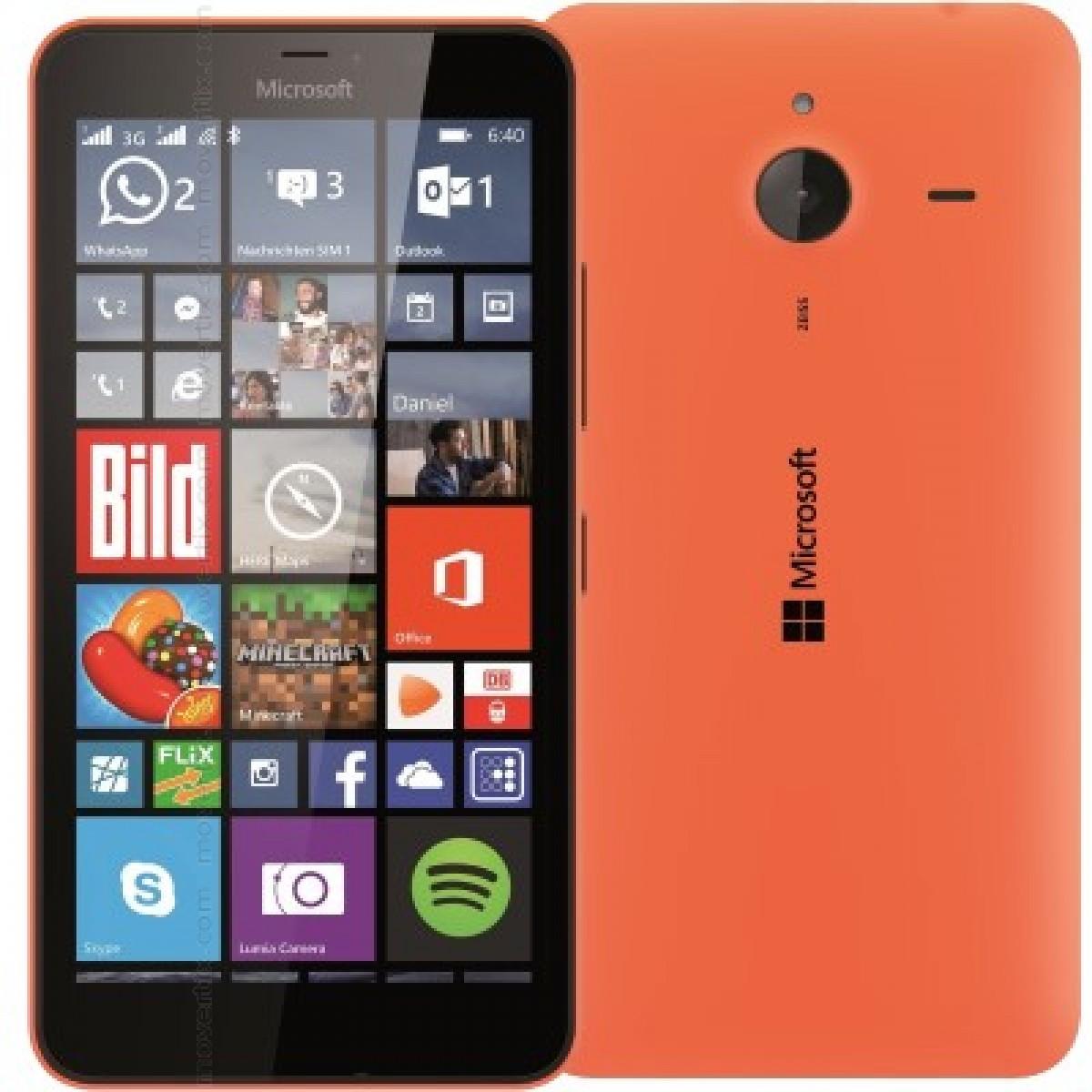 Microsoft Lumia 640 Xl Dual En Naranja 6438158720558