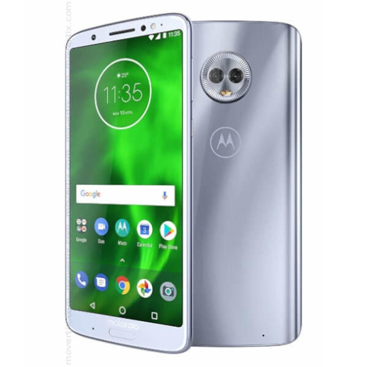 af593dc8ec3 Motorola Moto G6 Plus Dual SIM en Plata de 64GB y 4GB RAM - XT1926-3 ...