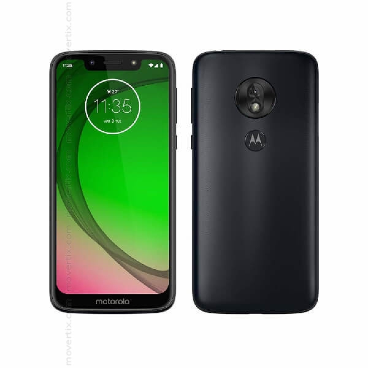 7b52318ee0 The Motorola Moto G7 Play in blue color is a Dual SIM smartphone with 32GB  of storage and 2GB of RAM, 5.7-inch IPS LCD screen in HD+ resolution, ...