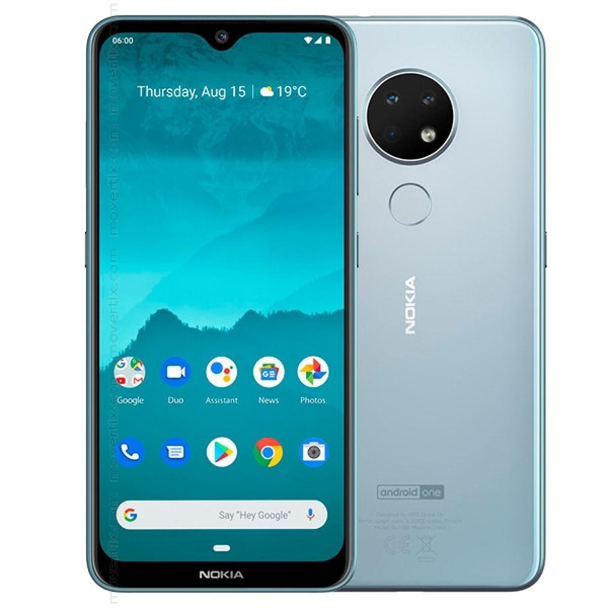Nokia 6.2 Dual SIM Ice 64GB and 4GB RAM (6438409036339