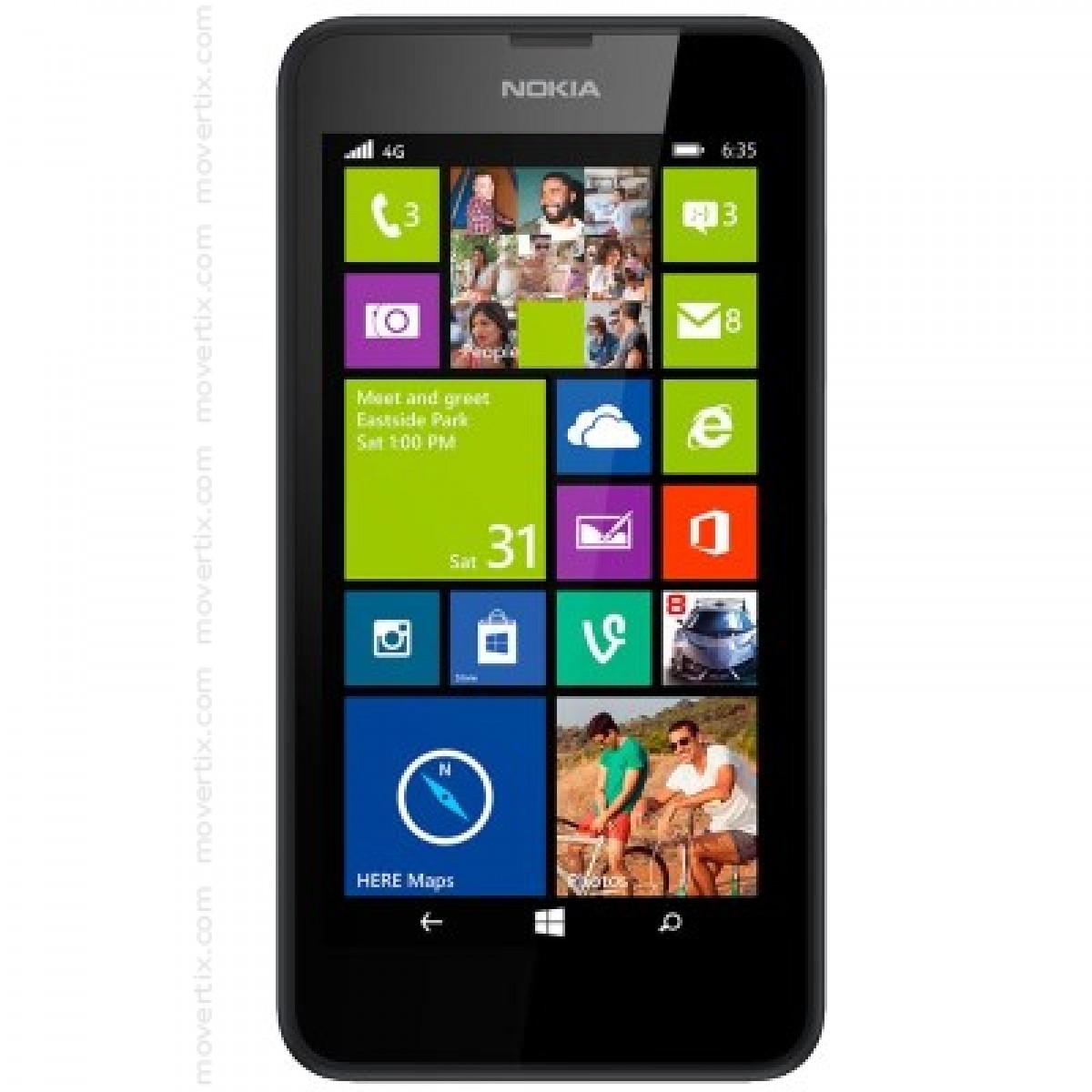 58cb6505246 Nokia Lumia 635 en Negro (6438158659216) | Movertix Tienda de ...