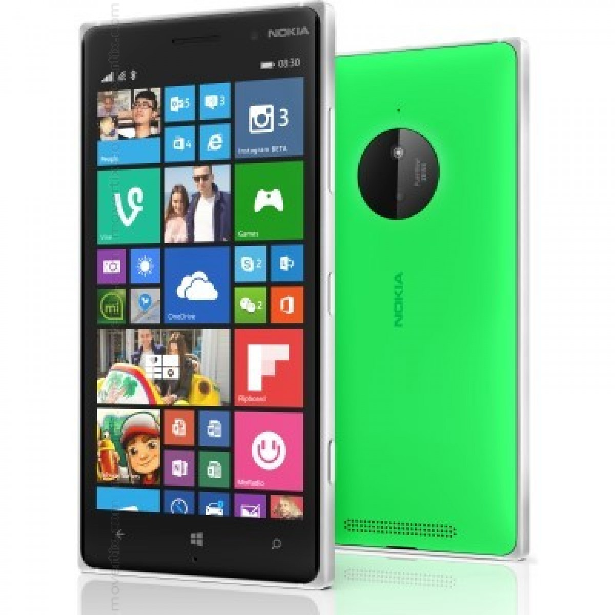 Nokia lumia 830 reviews - The Smartphone Nokia Lumia 830 In Green Color Has Been Designed With Young People In Mind Using Lightweight Materials Such As Polycarbonate To Achieve