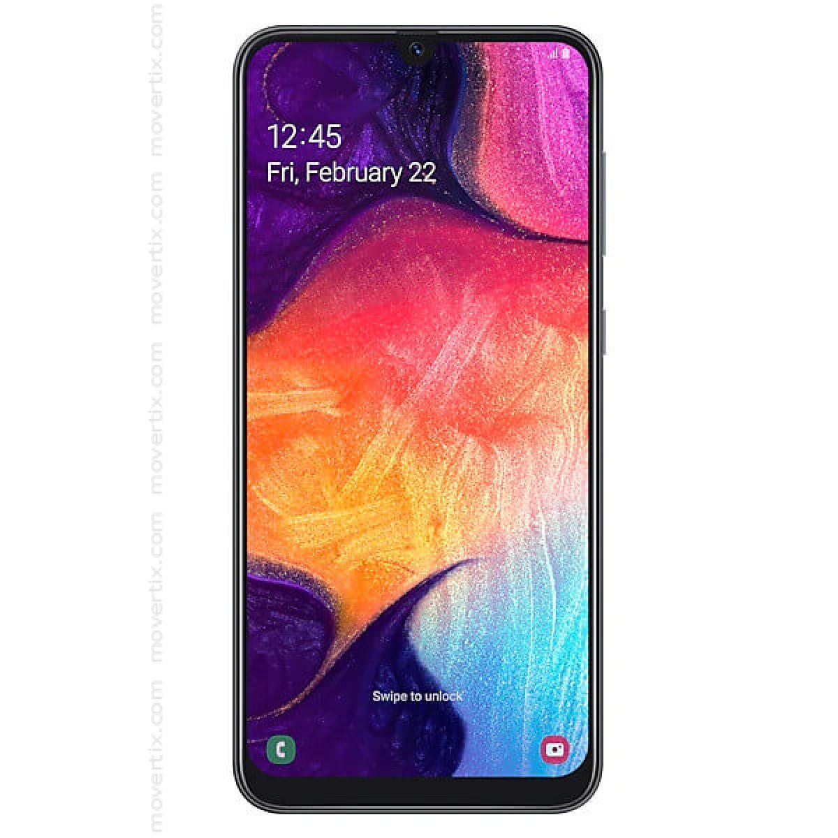 Samsung Galaxy A50 Dual SIM Black 128GB and 4GB RAM