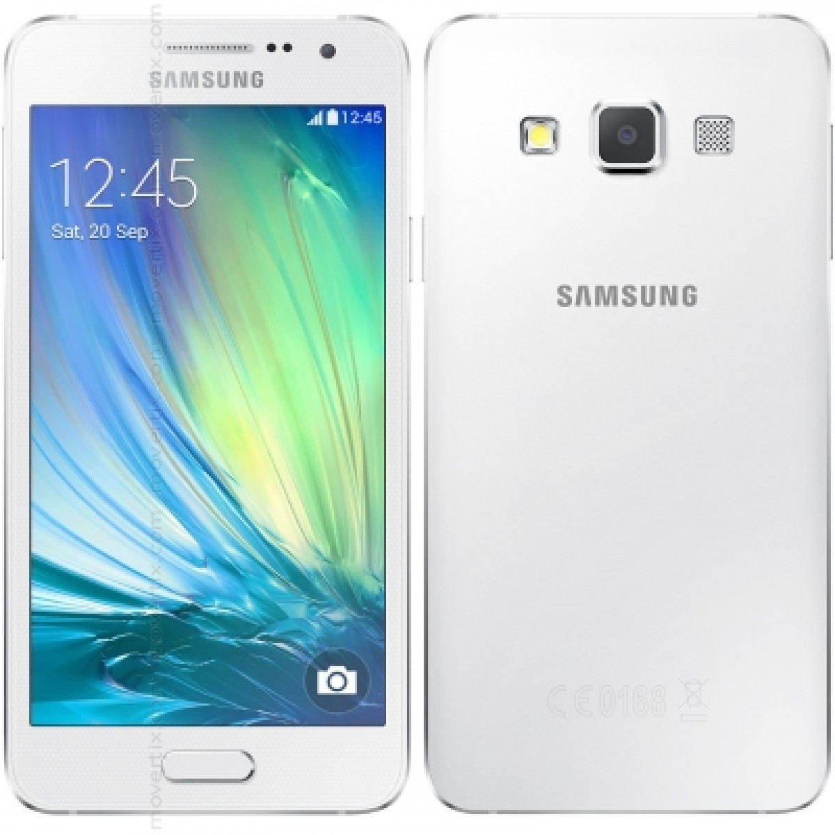 Enjoy The Galaxy A7 With 16 GB In White Color A Smartphone That Consolidates Samsungs High End And Becomes Jewel Of Crown