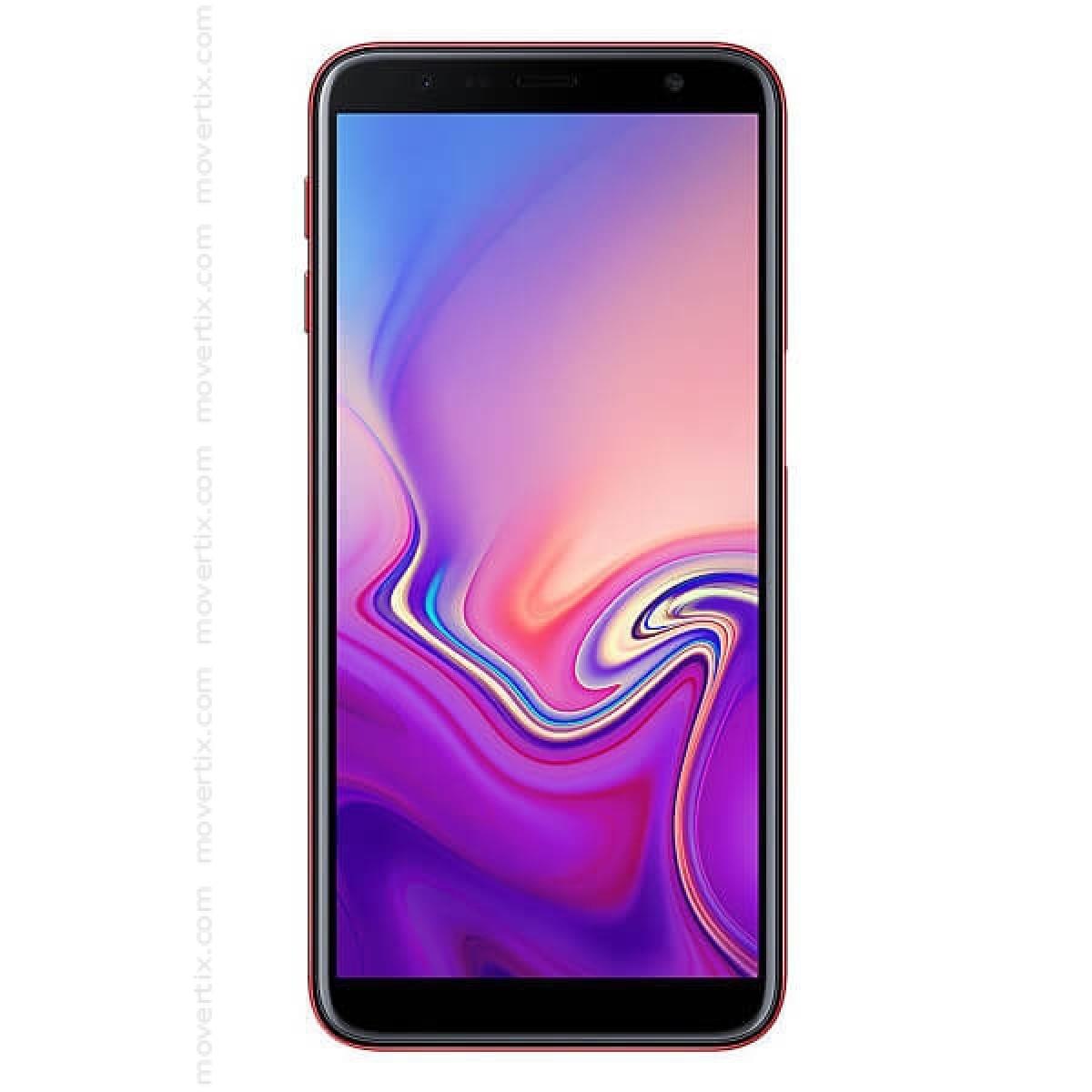 04921a2e8a73f El Samsung Galaxy J6 Plus (2018) de color rojo es un smartphone Dual SIM con  una pantalla de 6 pulgadas