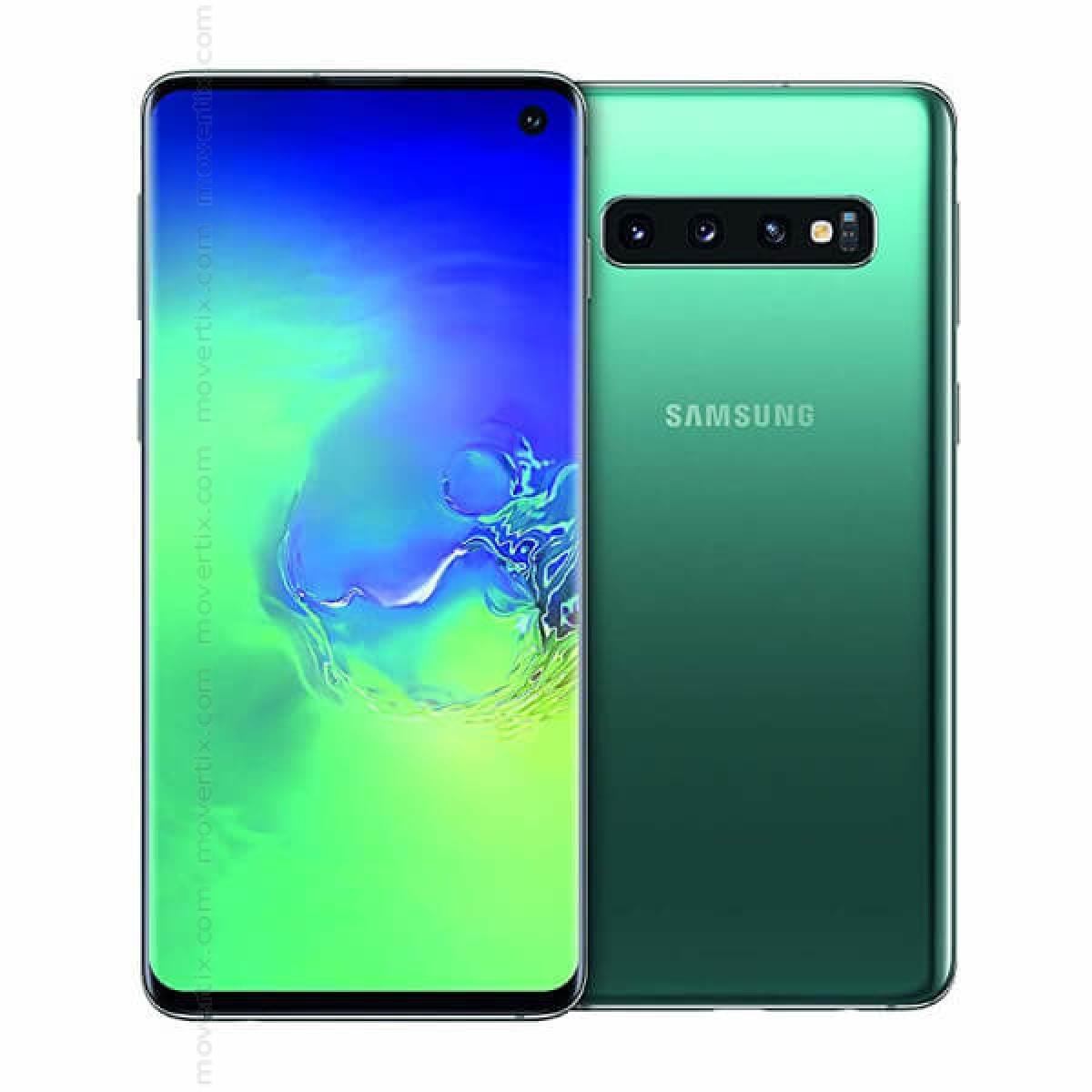 Samsung Galaxy S10 Dual SIM Prism Green 128GB and 8GB RAM (SM-G973F/DS)