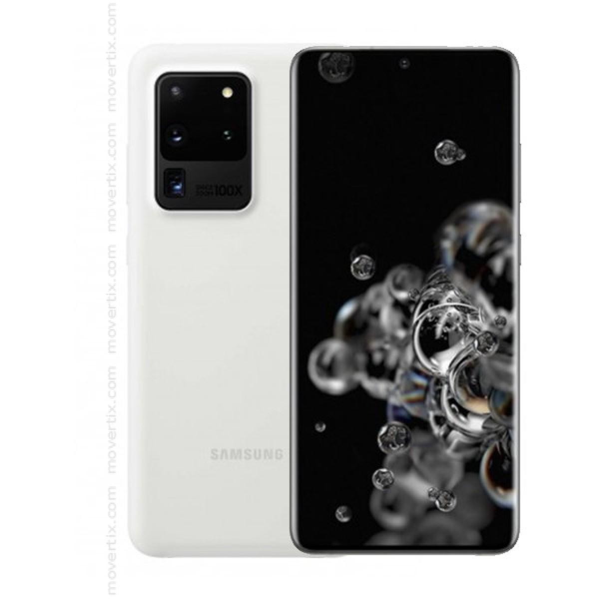 Samsung Galaxy S20 Ultra 5G in Weiß mit 128GB und 12GB RAM - SM-G988B  (8806090555893)