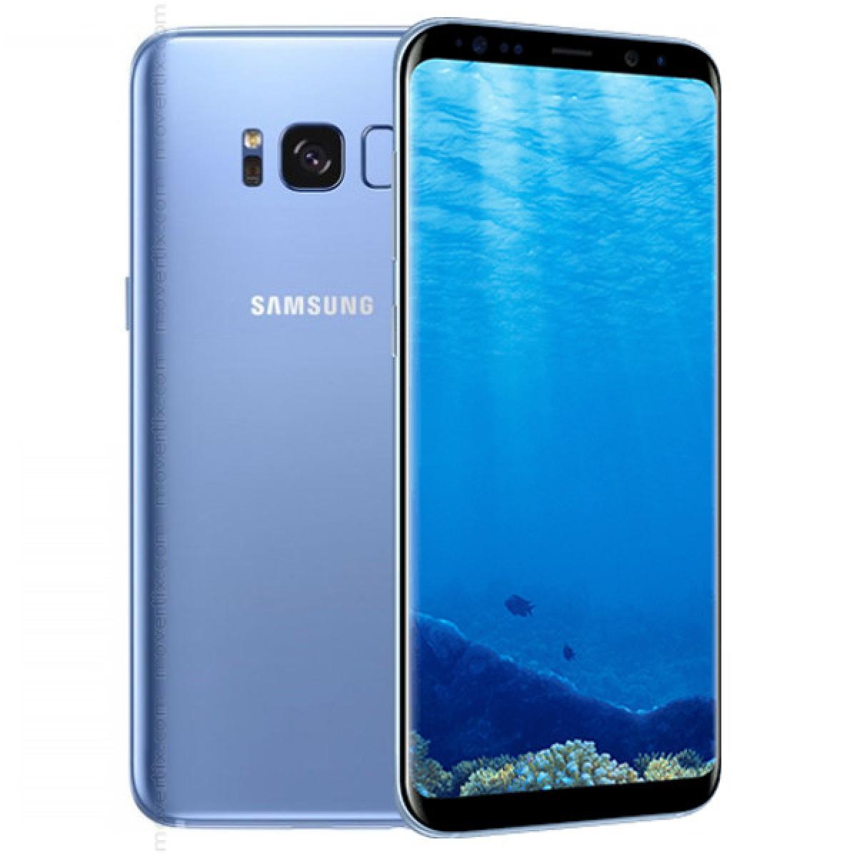 ae6f6d18140 Samsung Galaxy S8 en Azul (8806088848723) | Movertix Tienda de ...