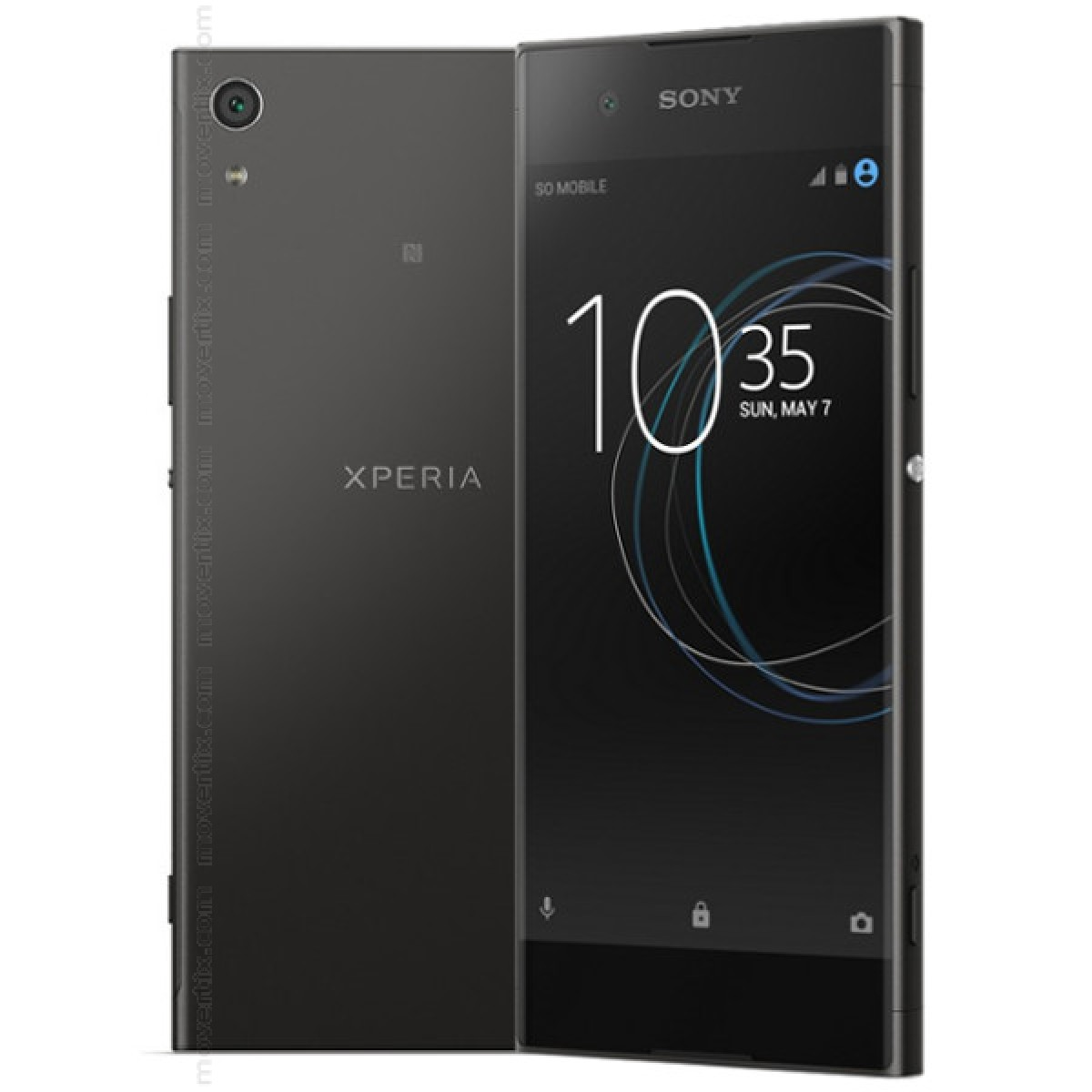 sony xperia xa1 noir g3121 7311271578956 movertix t l phones mobiles et smartphones. Black Bedroom Furniture Sets. Home Design Ideas