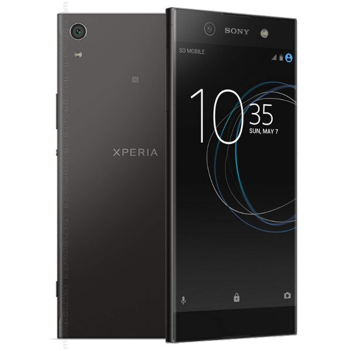 sony xperia xa1 ultra black 7311271583837 movertix mobile phones shop. Black Bedroom Furniture Sets. Home Design Ideas