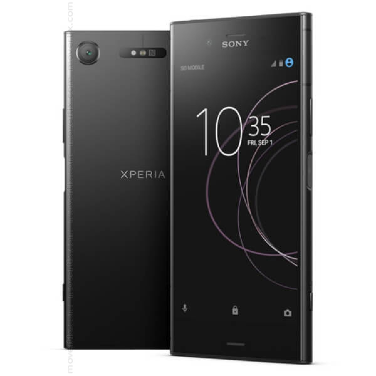 sony xperia xz1 noir g8341 7311271596264 movertix t l phones mobiles et smartphones. Black Bedroom Furniture Sets. Home Design Ideas