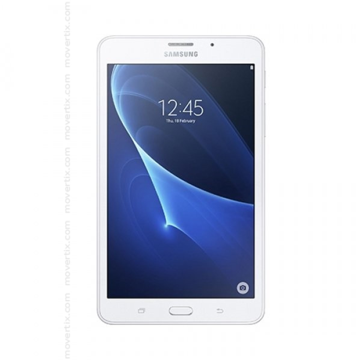 samsung galaxy tab a6 white sm t285 8806088241005 movertix mobile phones shop. Black Bedroom Furniture Sets. Home Design Ideas