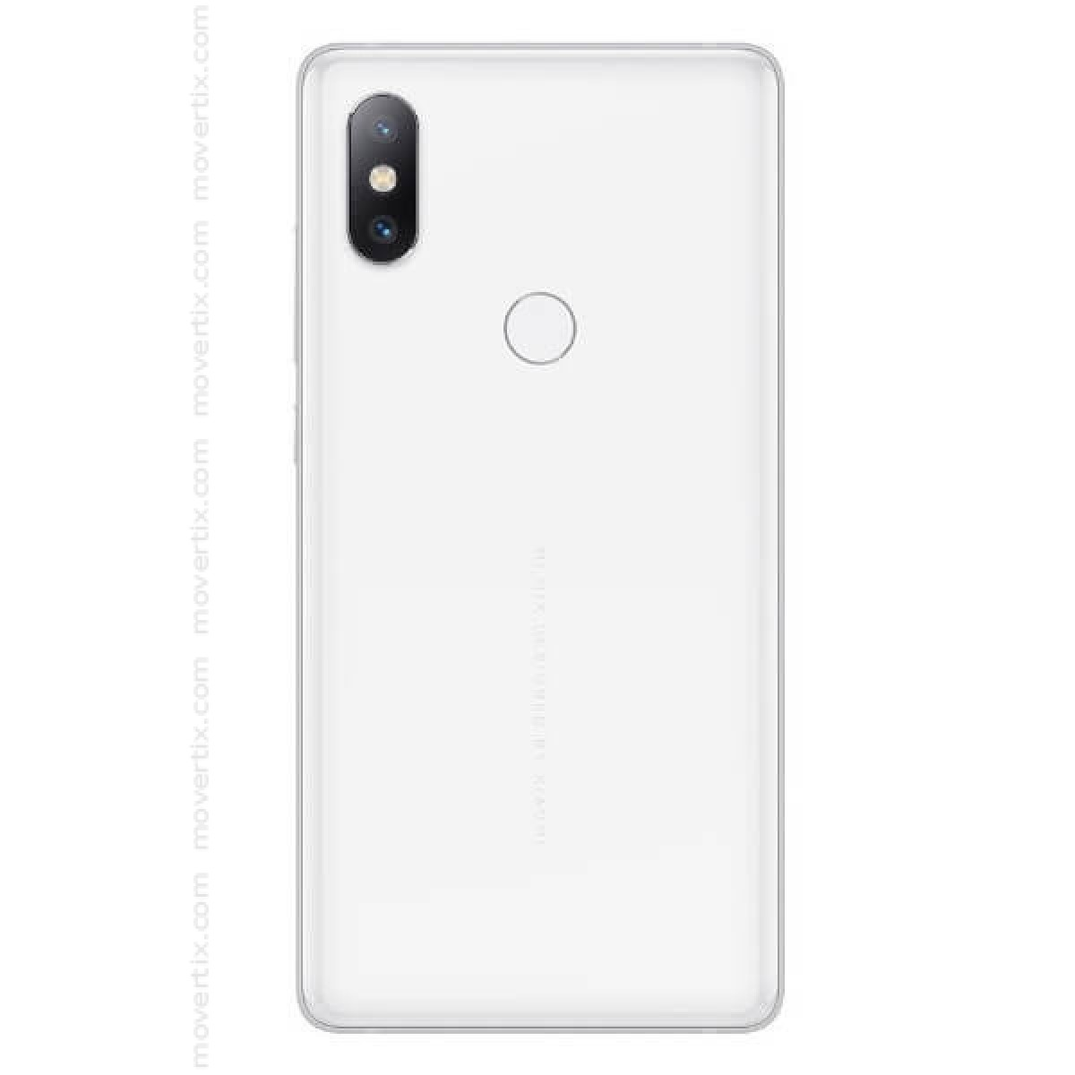 The Xiaomi Mi Mix 2S in white color has an exclusive curved ceramic design  and all screen, dual camera with AI and Dual Pixel, Octa-core processor, ...