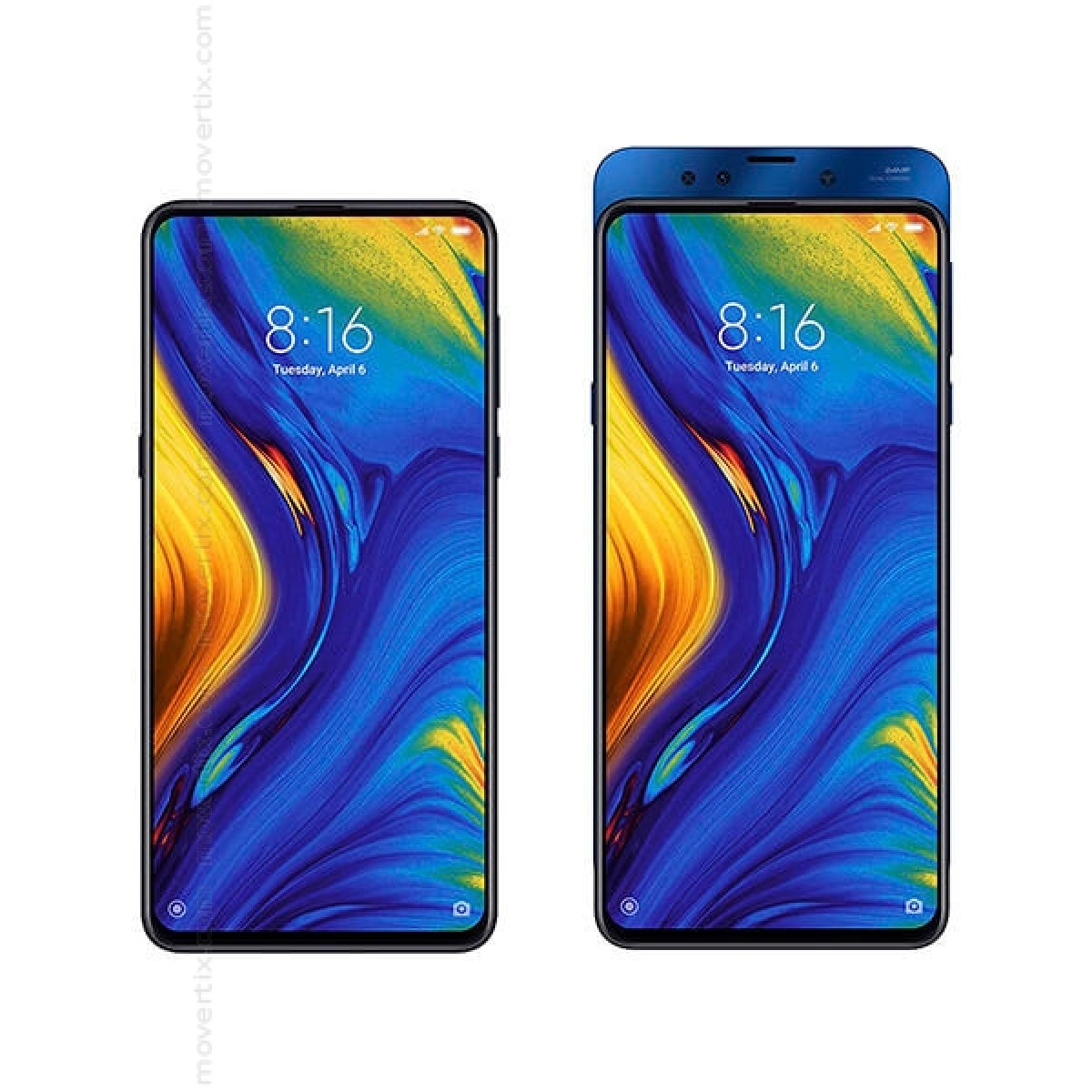 760e8a64c44 Xiaomi Mi Mix 3 Dual SIM Blue 128GB and 6GB RAM (8435534602185 ...