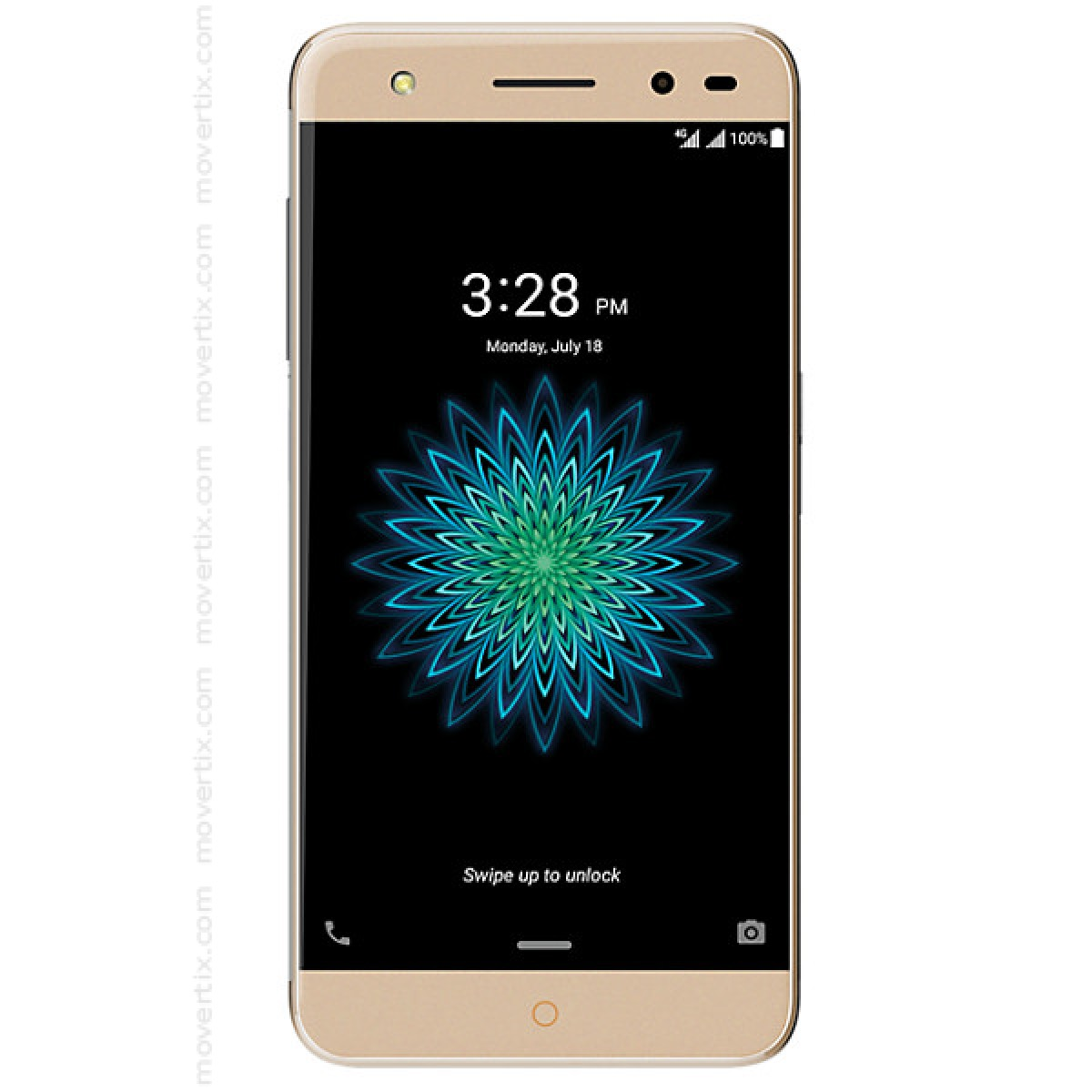The Zte Blade V7 Lite In Gold Color Is A Cheap Dual Sim Mobile With 16gb