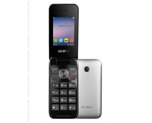 Alcatel 2051 Dual SIM en Plata