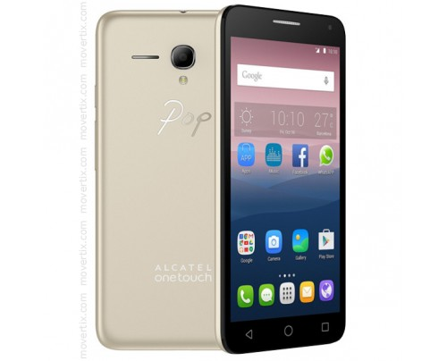 Alcatel One Touch Pop 3 in Gold mit 5.5'' (5025D)