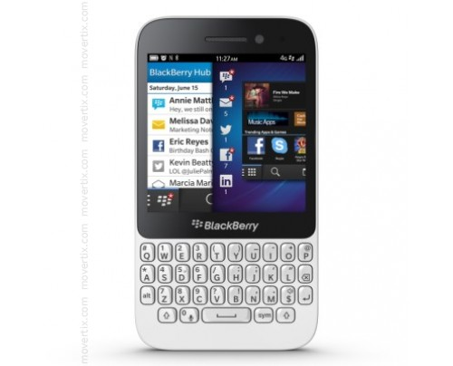 Blackberry Q5 in Weiß