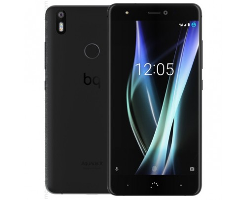 Bq Aquaris X en Negro de 32GB y 3GB RAM