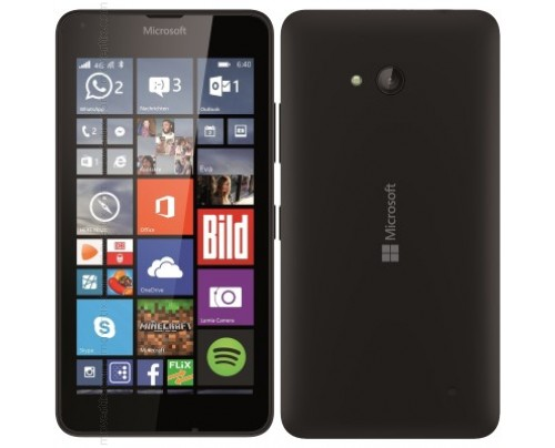 Microsoft Lumia 640 LTE in Nero