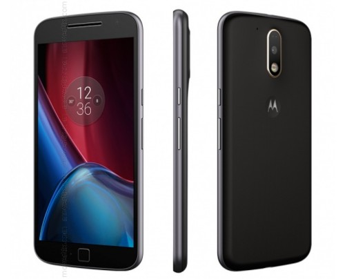 Motorola Moto G4 PLUS Dual SIM en Negro (XT1642)