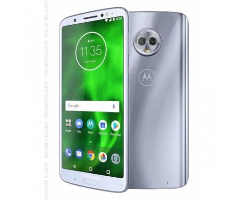 Motorola Moto G6 Plus Dual SIM en Plata de 64GB y 4GB RAM (XT1926-3)