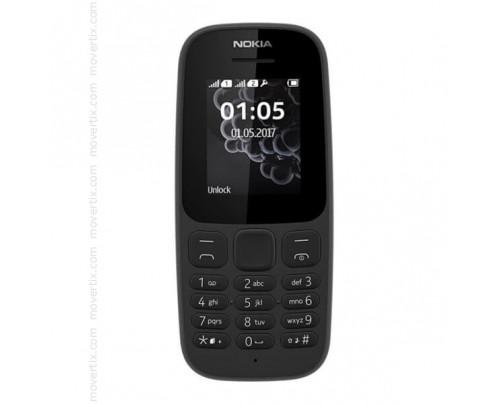 Nokia 105 (2017) Dual SIM en Negro