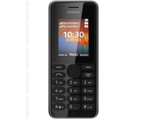 Nokia 108 Dual SIM in Schwarz