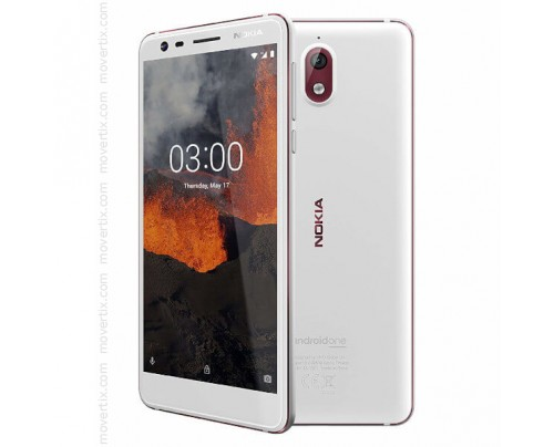 Nokia 3.1 Dual SIM White 16GB and 2GB RAM