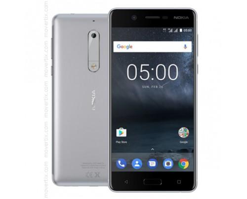 Nokia 5 en Plata