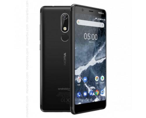 Nokia 5.1 Dual SIM en Negro de 16GB y 2GB RAM