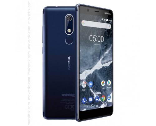 Nokia 5.1 Dual SIM en Azul de 16GB y 2GB RAM