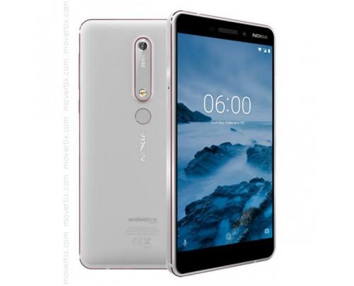 Nokia 6.1 (2018) Dual SIM en Blanco de 32GB y 3GB RAM