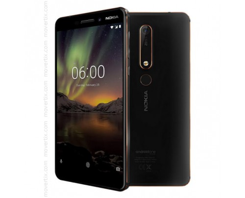 Nokia 6.1 (2018) Dual SIM en Negro de 32GB y 3GB RAM