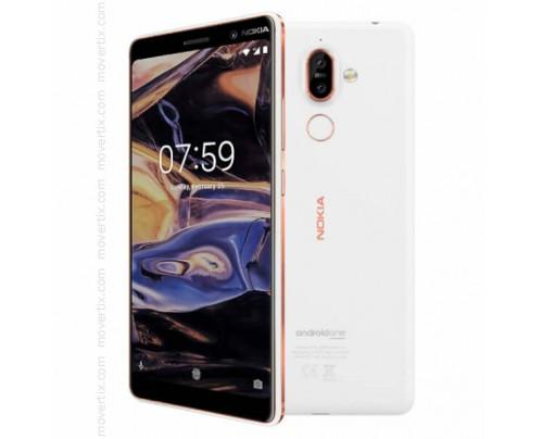 Nokia 7 Plus Dual SIM en Blanco de 64GB y 4GB RAM